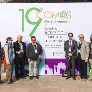 ICOMOS Canada à l'Assemblée générale de Delhi