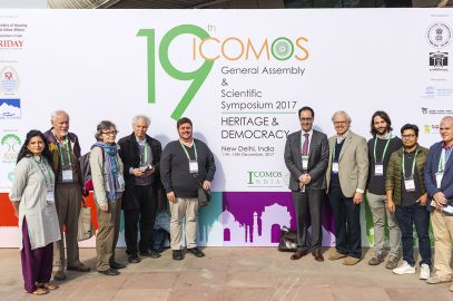 ICOMOS Canada at the General Assembly in Delhi