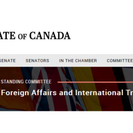 Heritage, Foreign Affairs and International Trade