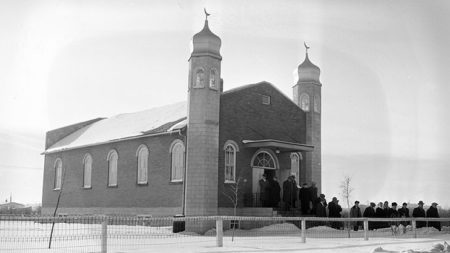 """Upcoming Webinar: """"A Mosque on Treaty 6: The Al-Rashid and the Making of Muslim Heritage in Canada"""""""