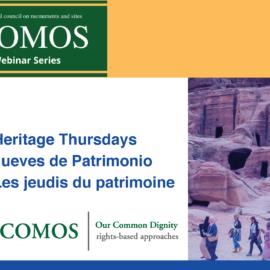 Série de webinaire Les Jeudis du patrimoine: Approches du patrimoine culturel centrées sur les droits
